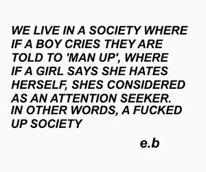 society, boy, and quote image