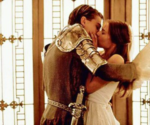 love, kiss, and romeo and juliet image