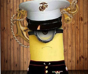 Marines, minions, and USMC image