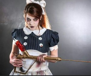 bioshock, cosplay, and little sister image