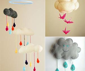 clouds, diy, and bird image