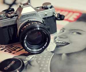 canon, photography, and retro image