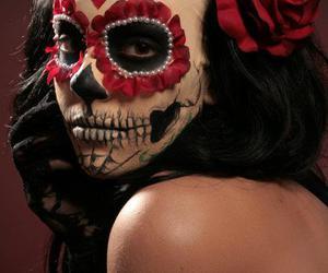 catrina, dia de muertos, and death image