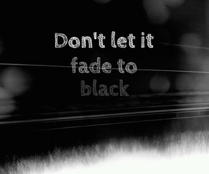 black, it, and fade image