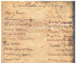 dumbledores army, harry potter, and hogwarts image