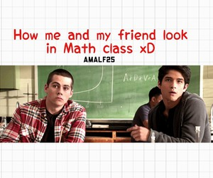 friend, math, and true image