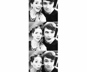 zoella, danisnotonfire, and youtube image