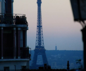 architecture, city, and eiffel image