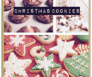 christmas cookies, cute, and Cookies image