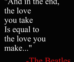 aww, the beatles, and quote image