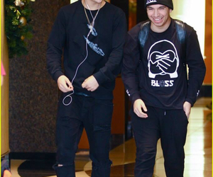 airport, friends, and austin mahone image