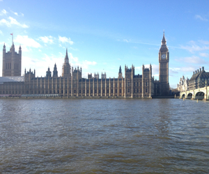 Big Ben, water, and westminster image