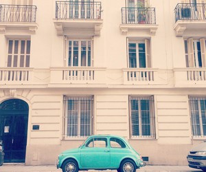 car, fiat, and house image