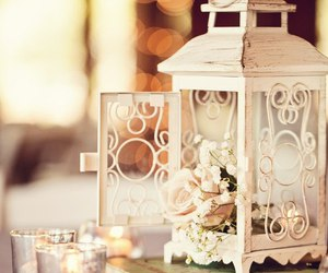 candles, romantic, and vintage image