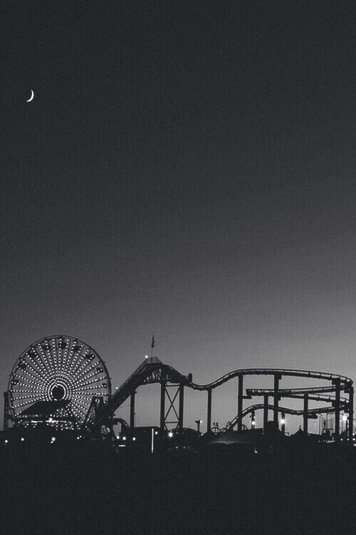 Santa Monica Pier Los Angeles California Wallpaper For Iphone 6