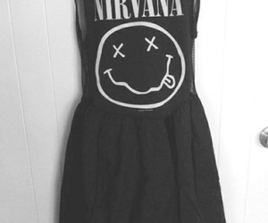 nirvana, dress, and black image