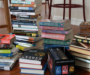 books, harry potter, and teen image