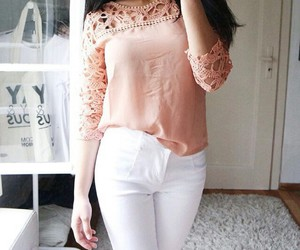 crochet, outfit, and style image