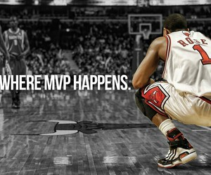 NBA and rose image