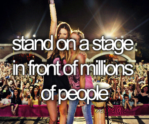before i die, stage, and people image