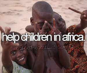 child, africa, and help image