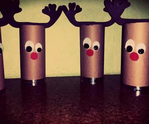 braun, brown, and christmas image