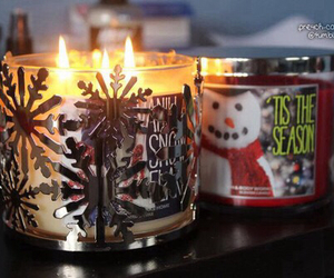 winter and candle image