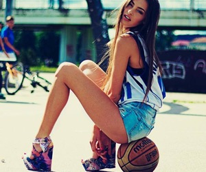 angel, Basketball, and beautiful image
