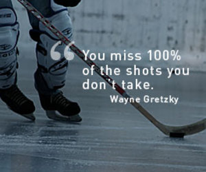 Ice Hockey, quotes, and you miss image