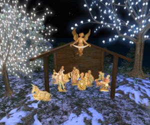 christmas, christmas eve, and nativity scene image