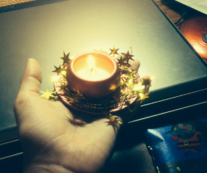 candle and new year image