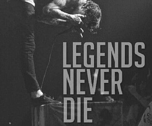 mitch lucker, suicide silence, and legend image