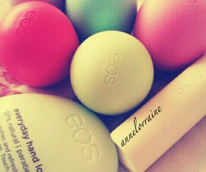 colourful, eos, and lipstick image