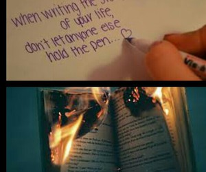 its your life, your book, and life is on your hands image
