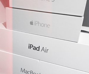air, apple, and couple image