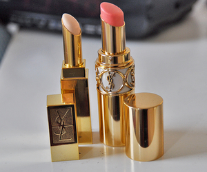 lipstick, YSL, and makeup image