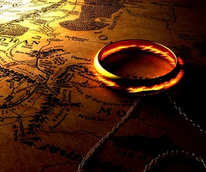 LOTR, map, and middle earth image