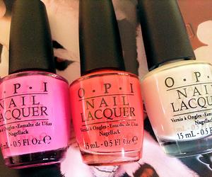 pink, girly, and nails image