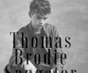 thomas brodie sangster, newt, and thomas image