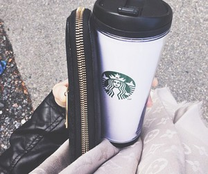 fashion and starbucks image
