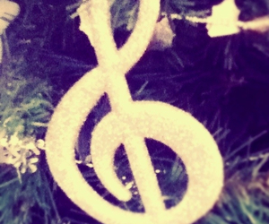musique, noel, and note image