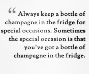 quote and champagne image
