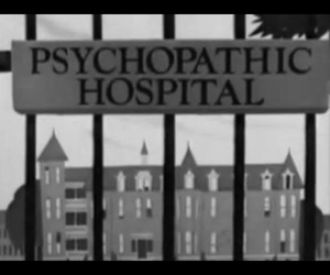 mental institution and psychopathic hospital image