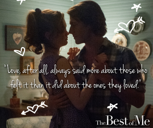 boy girl, couple, and nicholas sparks image