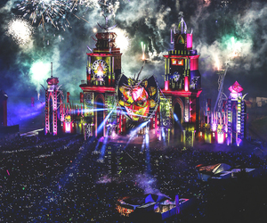 festival, music, and Tomorrowland image