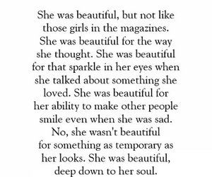 beautiful, quote, and she image