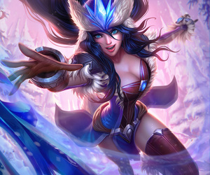 sivir, league of legends, and lol image