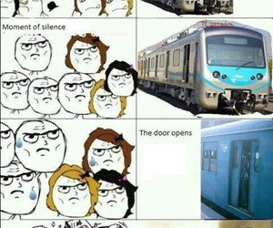 train, funny, and lol image