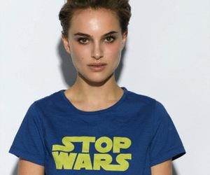 natalie portman, star wars, and stop wars image