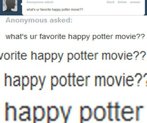 harry potter, happy potter, and happy image